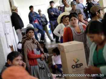 La derecha fue apartada del escenario político - Periódico Bolivia - Periódico Bolivia