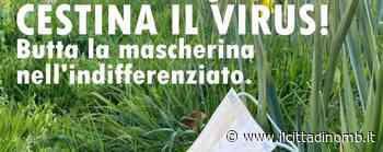 """""""Cestina il virus"""": a Villasanta la campagna contro l'abbandono delle mascherine usate - Cronaca, Villasanta - Il Cittadino di Monza e Brianza"""