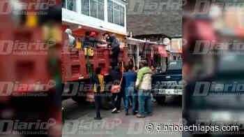 Instalan bloqueo en el tramo carretero Huixtla-Motozintla - Diario de Chiapas