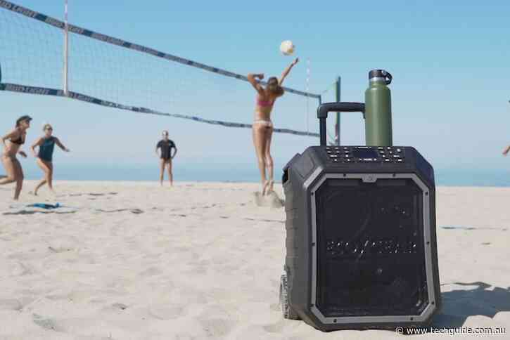 Enjoy a huge sound anywhere with the EcoBoulder Max Bluetooth speaker
