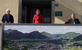 Neue Fotoleinwand schmückt die Gemeinde Molln - Tips - Total Regional
