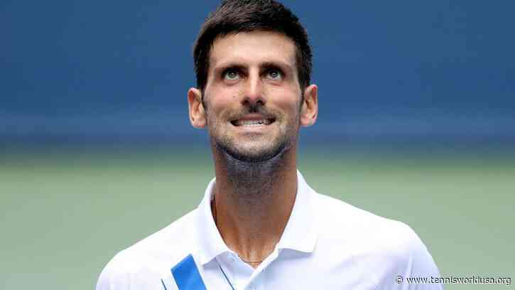 Novak Djokovic: 'I hope to be able to record good results thanks...'