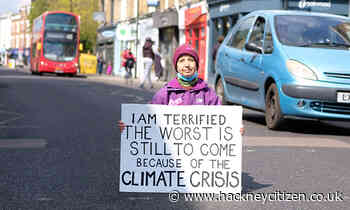 'The future is bleak': Hackney resident blocks local traffic on day of climate action - Hackney Citizen