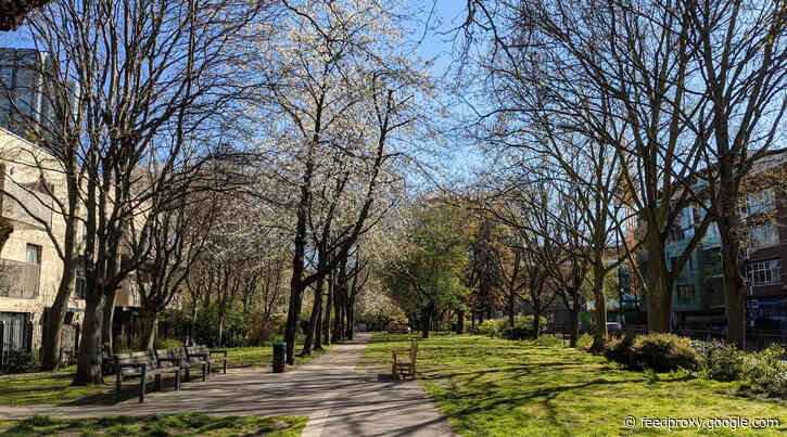 London's Pocket Parks: King Square Gardens, EC1