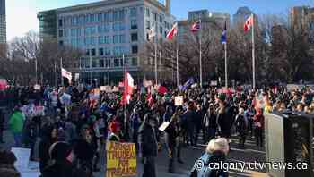 Calgary Police Service reaffirms commitment to enforcement, ticketing following protest rallies - CTV Toronto