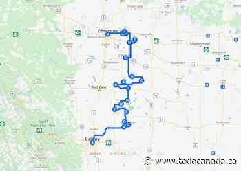 Scenic Road Trip Alberta: Calgary to Edmonton Via The Badlands - To Do Canada
