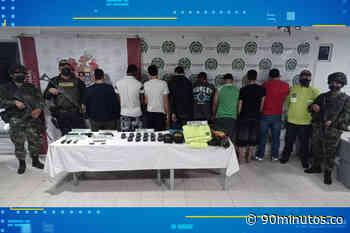 Capturados 8 presuntos miembros de la banda 'Villa Obando' - 90 Minutos