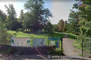 Runner confronts pensioners who were setting traps for cyclists in popular park