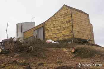 Waldkirche in Heidenheim: Markantes Bauwerk aus Stadtbild verschwunden - Heidenheimer Zeitung