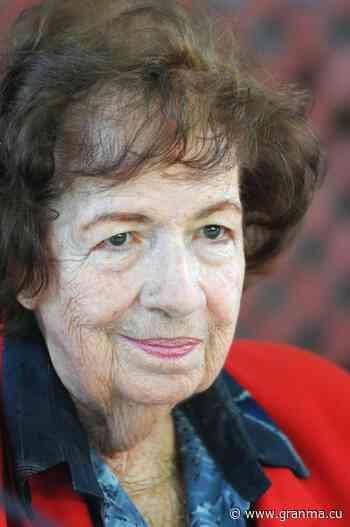 María Dolores Ortiz y sus 85 primaveras › Cultura › Granma - Órgano oficial del PCC - Diario Granma