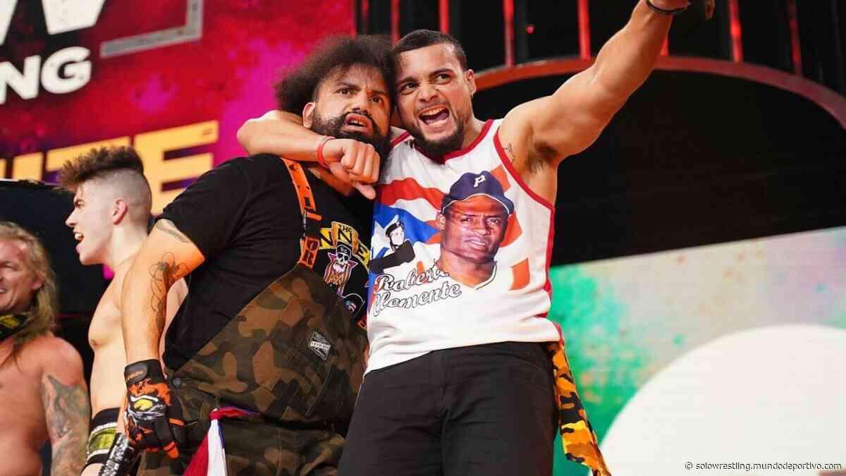 Santana y Ortiz piensan que una división de Tríos beneficiaría a las superestrellas de AEW - solowrestling