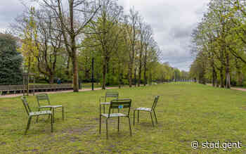 Lees meer over 128 extra losse stoelen voor Gentse parken - Gent