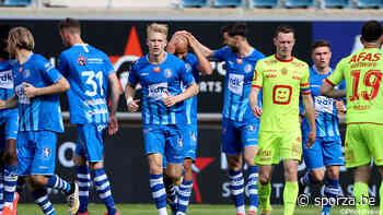 Gent geraakt op, maar niet meer over KV Mechelen in Europe Play-offs - sporza.be