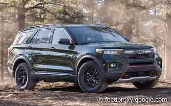 Ford Explorer Timberline trim debuts