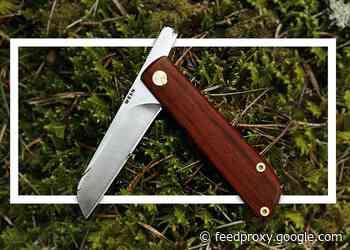 WESN Samla friction folding pocket knife from $59