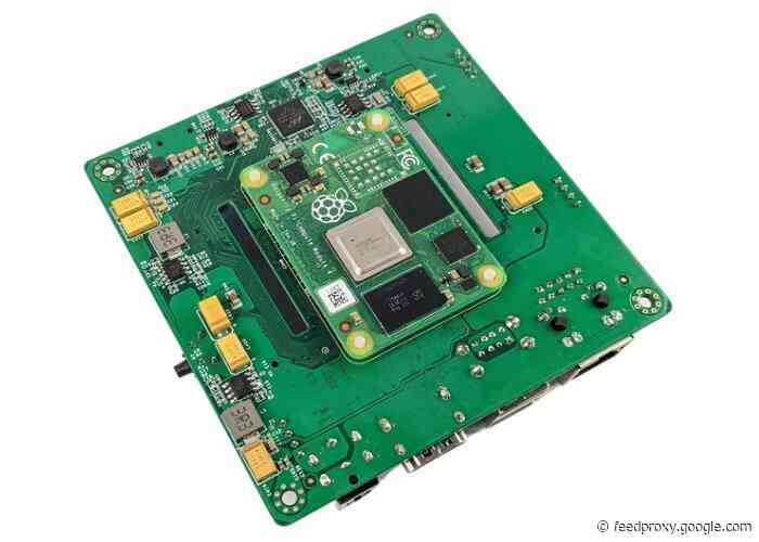 Wiretrustee SATA Raspberry Pi NAS compute module 4 SATA carrier board