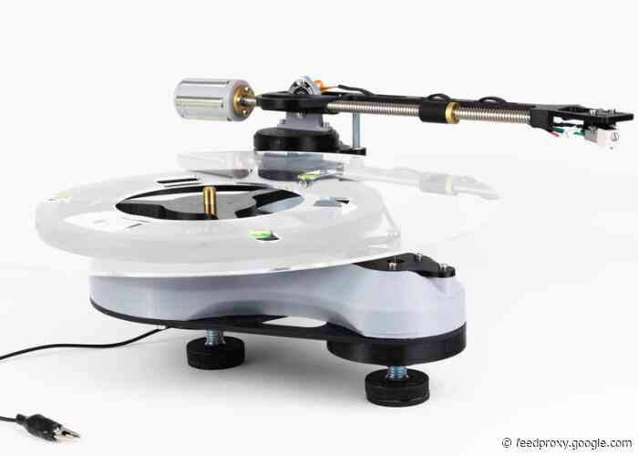 SongBird 3D printed record turntable kit from £135