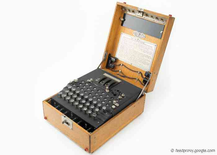 Enigma Machine World War II cipher machine goes up for auction