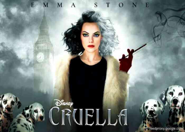 Disney's Cruella premiers May 28th 2021