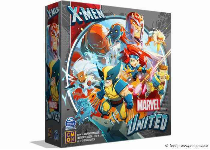 Marvel United X-Men board game raises over $4.6 million via Kickstarter