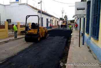 Con 80 toneladas de asfalto se inició bacheo en Carora #3May - El Impulso