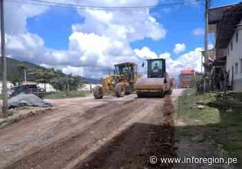 Amazonas: Atienden emergencias viales en la ruta Chachapoyas-Punta de Carretera - INFOREGION