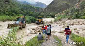 Restablecen tránsito vehicular en carretera Chachapoyas - Pedro Ruiz tras deslizamiento de lodo - Diario Perú21