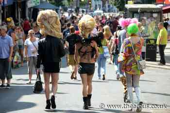 Brighton Pride: Mass gatherings still a 'huge challenge'