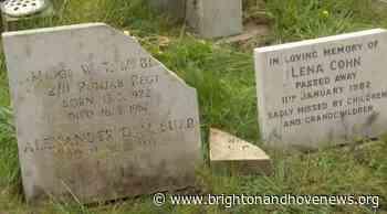 Brighton and Hove News » Vandals break gravestones in Hove churchyard - Brighton and Hove News