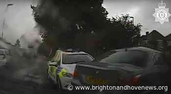 Video – Hove man jailed after high-speed police chase - Brighton and Hove News