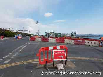 Work begins to install new traffic lights at top of Duke's Mound - Brighton and Hove News