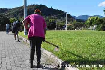 Prefeitura de Nova Hartz investe em limpeza de passeios públicos e pintura de meio-fio - Jornal Repercussão