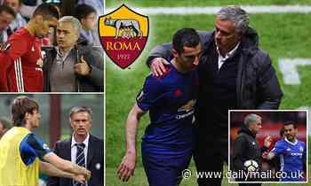 Roma: What Chris Smalling, Henrikh Mkhitaryan, Davide Santon and Pedro have said about Jose Mourinho