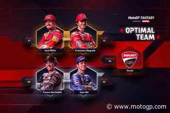 MotoGP™ Fantasy: Miller si è preso una bella rivincita