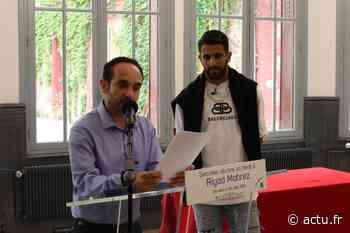 Val-d'Oise. Football : Riyad Mahrez, de l'équipe B de Sarcelles à Manchester City - actu.fr