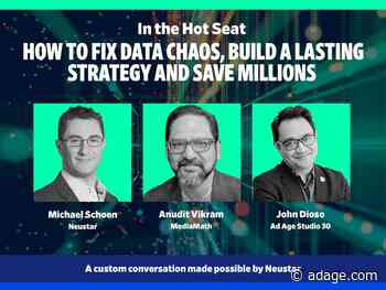 Watch live at 11:00 a.m. EDT: How to fix data chaos, build a lasting strategy and save millions