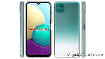 Samsung Galaxy A22 5G Tipped to Come With 15W Charging Support