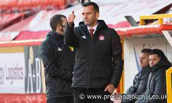 Aberdeen manager Stephen Glass calls for one last push from his side in race for third - Press and Journal