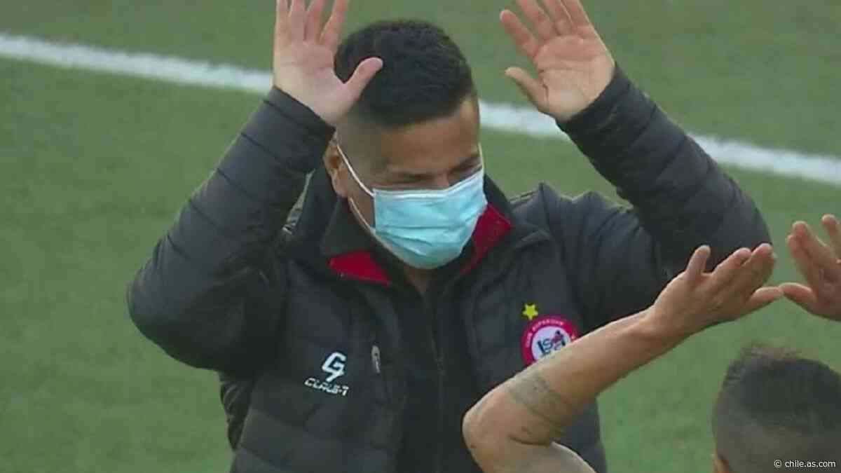 San Felipe festeja en el debut de 'Kike' Acuña como técnico - AS Chile