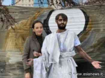 RUSSIA Krasnoyarsk flash mob with 'Risen Jesus'. An original Easter in Siberia - AsiaNews