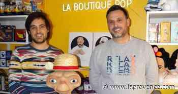 Pernes-les-Fontaines : la Boutique Pop d'Aurélien et Brice, un retour vers le passé - La Provence