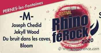 Le festival Rhinoférock de Pernes-les-Fontaines annulé - La Provence