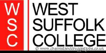 West Suffolk College: Programme Tutor - Pharmacy
