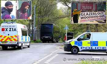 Manchester United get police escort to the airport to fly to Rome