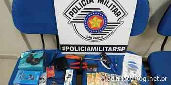 Ação conjunta prende suspeito de furtos no comércio de Guararema - O Diário