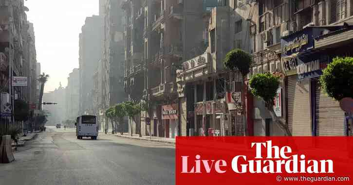 Coronavirus live: Egypt to close shops and restaurants for two weeks; Kenya detects Indian variant