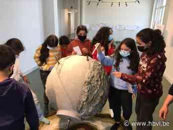 Leerlingen van De Beerring bezoeken tentoonstelling (Beringen) - Het Belang van Limburg Mobile - Het Belang van Limburg