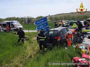 """Filottrano, incidente lungo la Provinciale 362 """"Jesina"""": quattro i feriti - Senigallia Notizie"""
