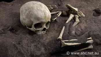 For 78,000 years, the bones of this child lay buried and undisturbed