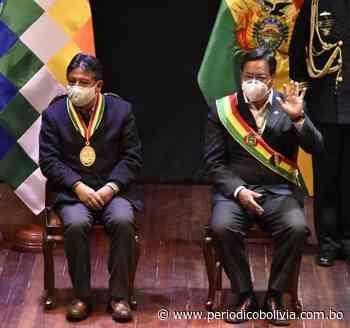 Presidente Arce y vicepresidente Choquehuanca saludan a la ciudad de El Alto por su 36 aniversario - Periódico Ahora El Pueblo - Periódico Bolivia